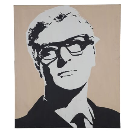 Screen Print of Michael Caine WD995857