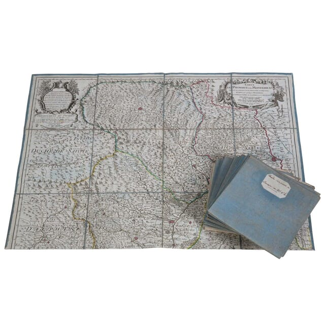 Regency Period Engraved European Map DA4410802