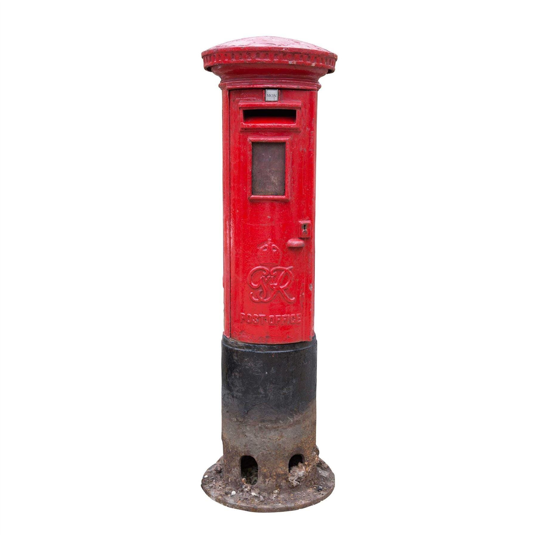 Royal Mail Letter Box.George Vi Royal Mail Post Or Letter Box