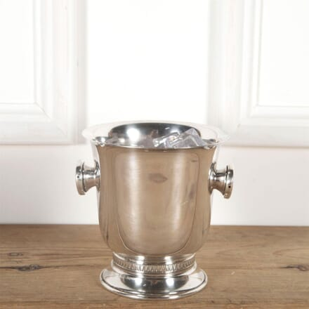 French Silver Plated Pedestal Ice Bucket DA5861430