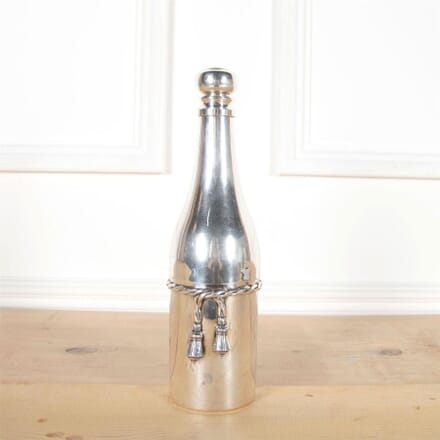 Silver Plated Champagne Bottle Cocktail Shaker DA5861024