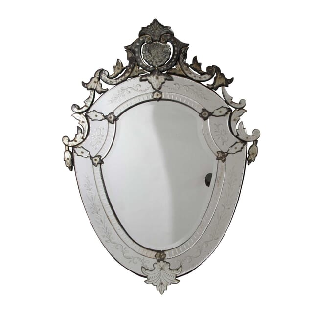 Large Venetian Mirror MI1557291