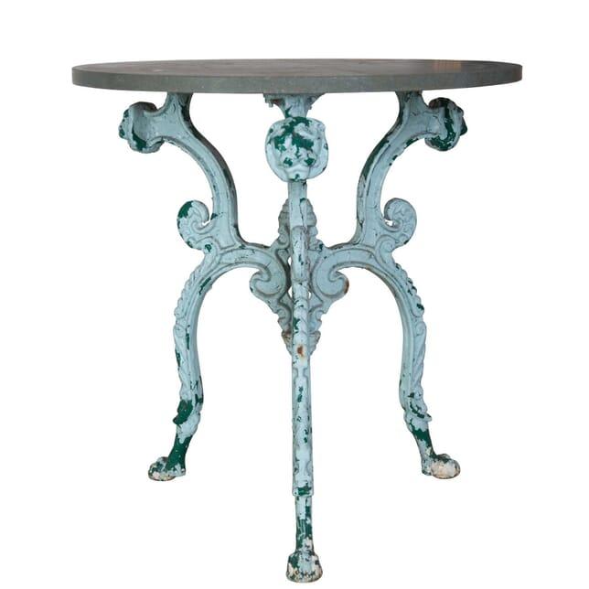 19th Century Cast Iron Table TC0856746