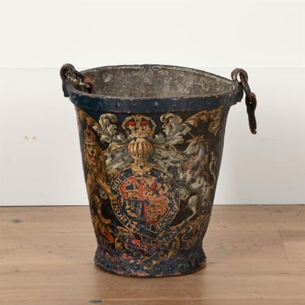 Georgian Painted Fire Bucket GA2761539
