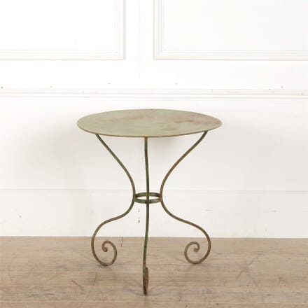 French Iron Garden Table GA157046