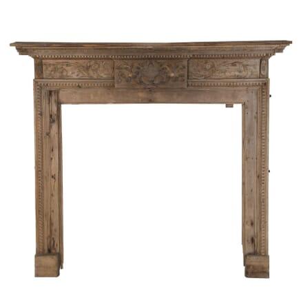 Pine Fireplace Surround OF0158695