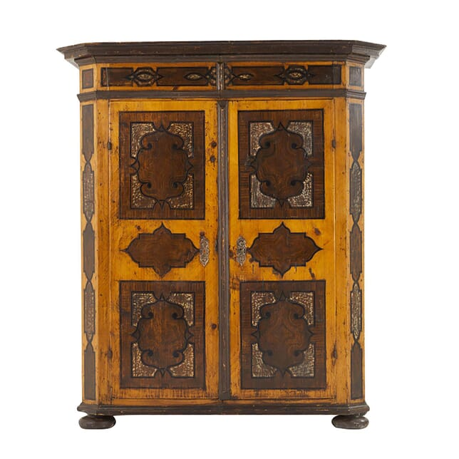 Early 18th Century Austrian Painted Armoire CU0661397