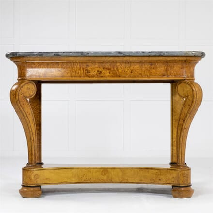 19th Century French Ash Console Table CO0662564