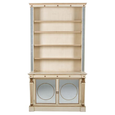 Mirrored and Painted Bookcase c.1930 BK132484