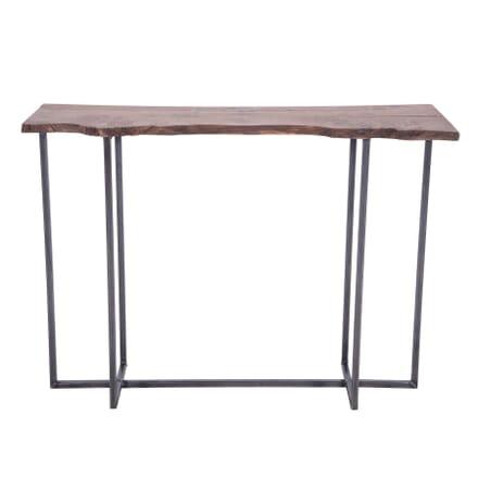 Minimalist Oak Console Table CO7359933