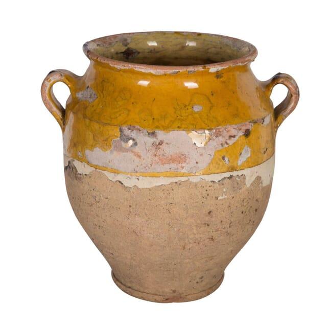 Medium Yellow Confit Jar DA4458644