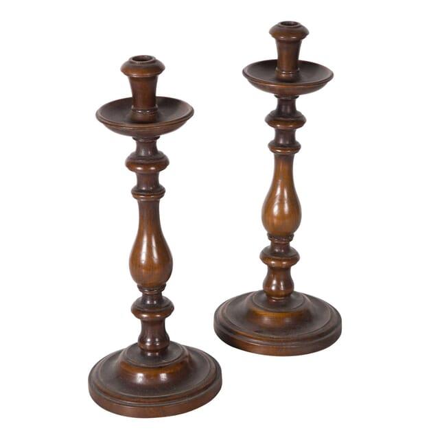 Pair of Oak Candlesticks DA5558744