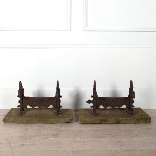 19th Century Pair of Boot Scrapers OF0360991