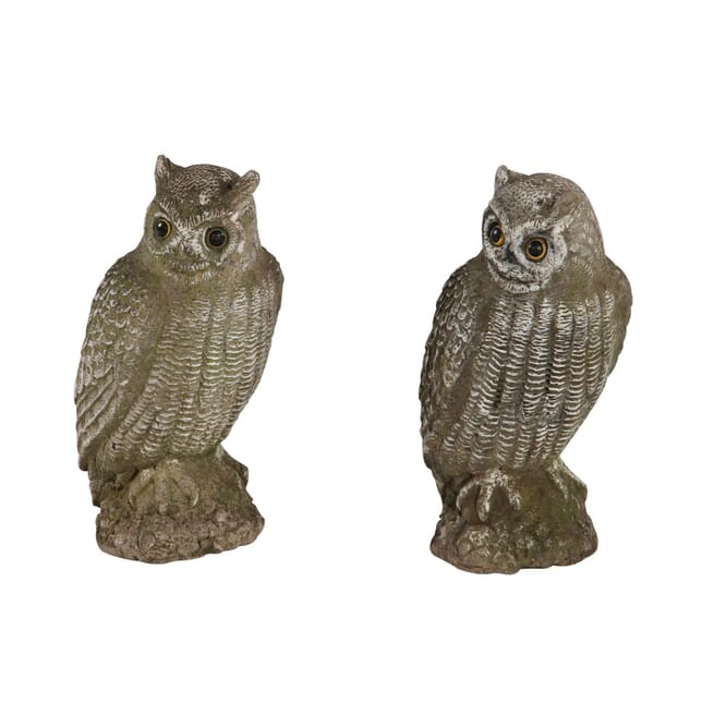 Composition Stone Owls GA130206