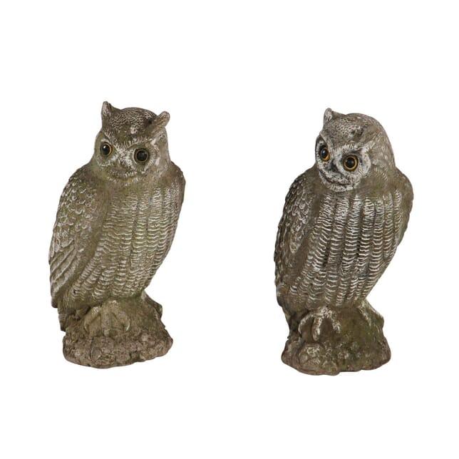 Composition Stone Owls GA130206