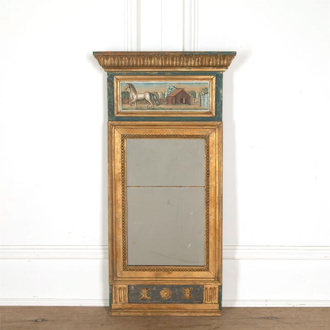 19th Century Swedish Mirror MI607776