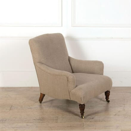 English 19th Century Howard Style Chair CH417212