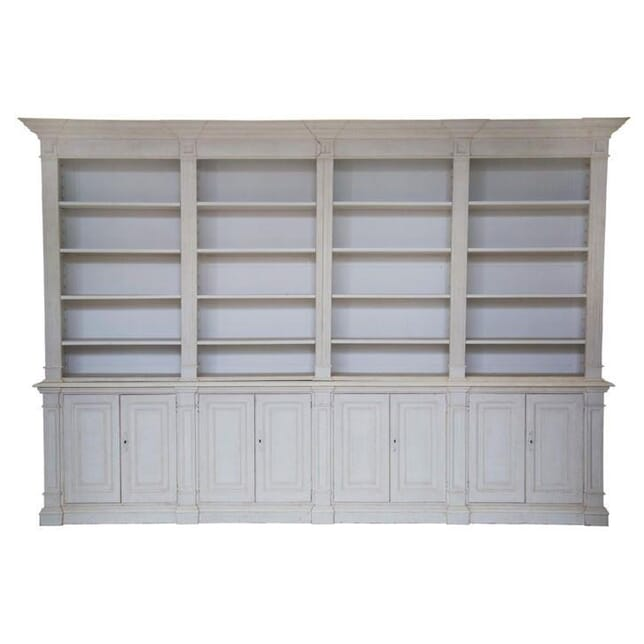 Huge Architectural Library Bookcase BK047292