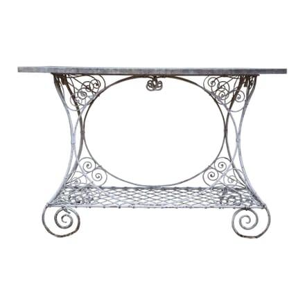 19th Century Wirework Garden Table GA4255374