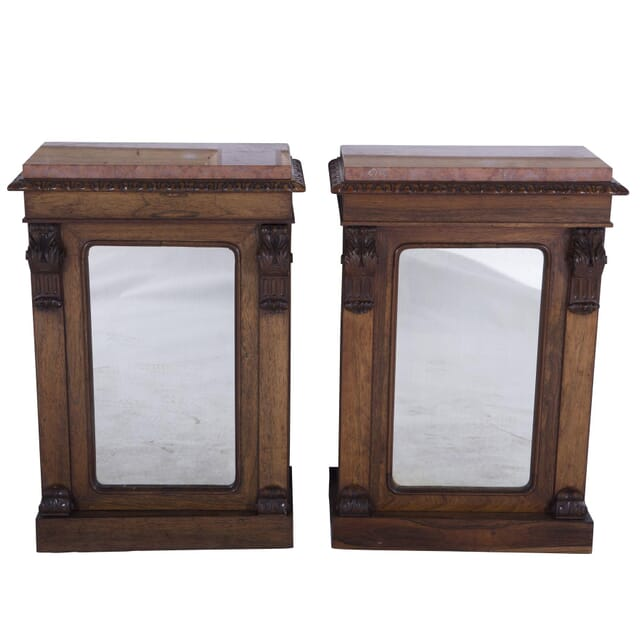 Pair of Mirrored Side Cabinets BU7260211