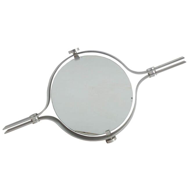 1970's Circular Aluminium Mirror by Walter and Moretti MI2960550