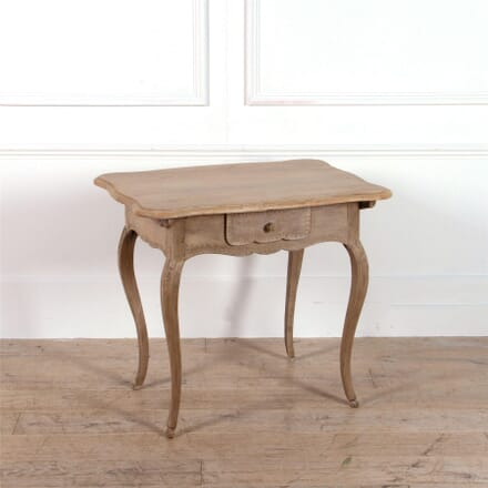 French Bleached Oak Lamp Table TC0462192