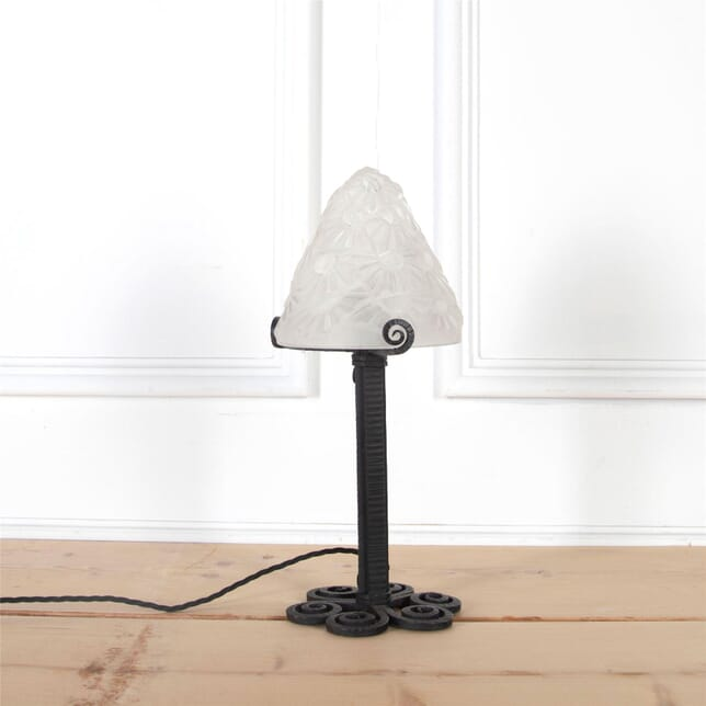 Small Art Deco Table Lamp by Degué LT2960989