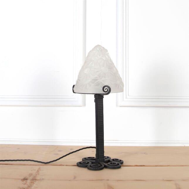 Small Art Deco Table Lamp by Degué LT2960989