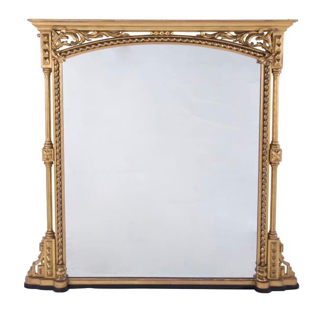 Gilt Overmantle Mirror MI7260208
