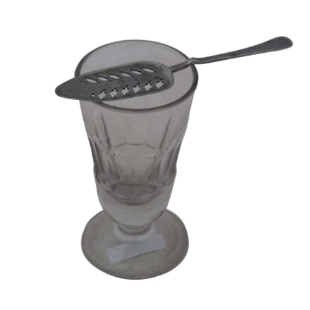 French Absinthe Glass and Spoon DA4454952