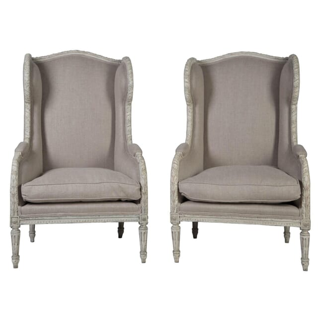 Pair of Wing back Bergeres CH1753761