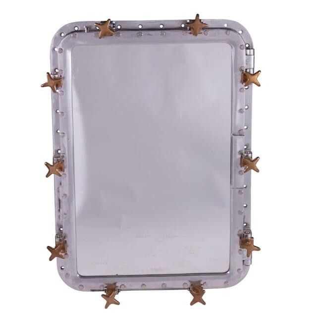 Bulk Head Mirror from a 2nd WW Submarine MI5359308