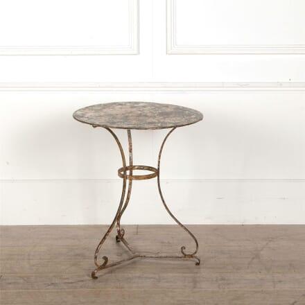 19th Century French Iron Table TC157016