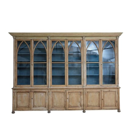 EARLY 19TH CENTURY FRENCH BOOKCASE BK123837