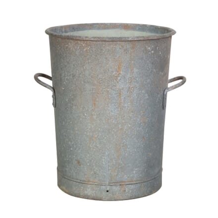 Zinc Vintage Flour Bin DA4454682