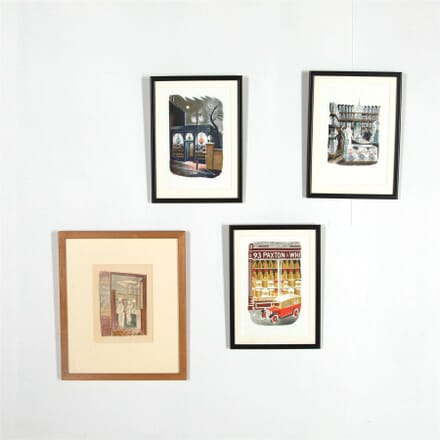 Collection of Four Eric Ravilious Prints WD287565