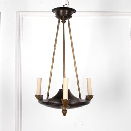 Empire Style 1920s Three Light Chandelier LC2162113