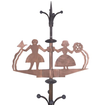 Iron and Copper French Weathervane GA7260187