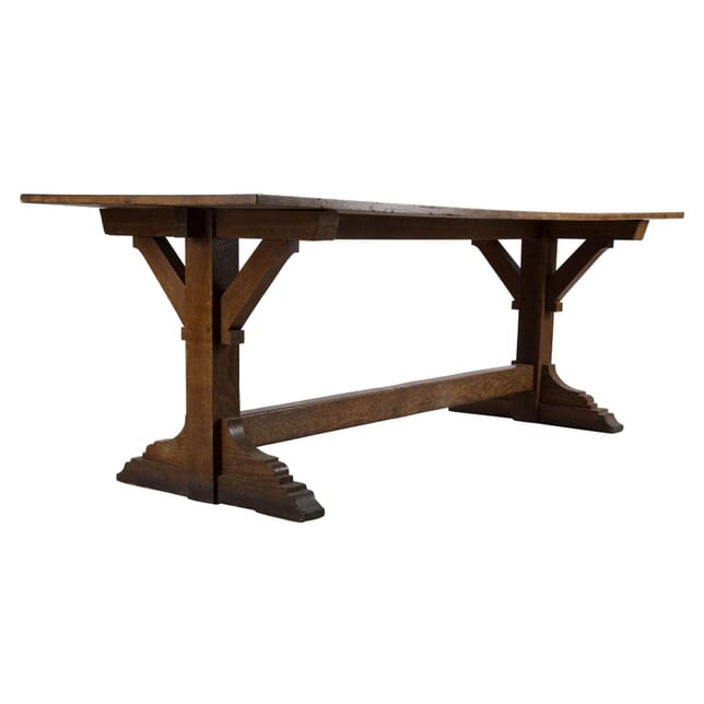 Arts and Crafts Oak table TD238263