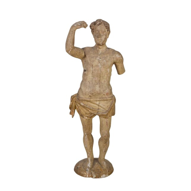 18th Century Carved Male Figure DA139958