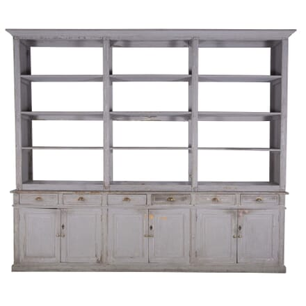 19th Century French Painted Bookcase BK3760226