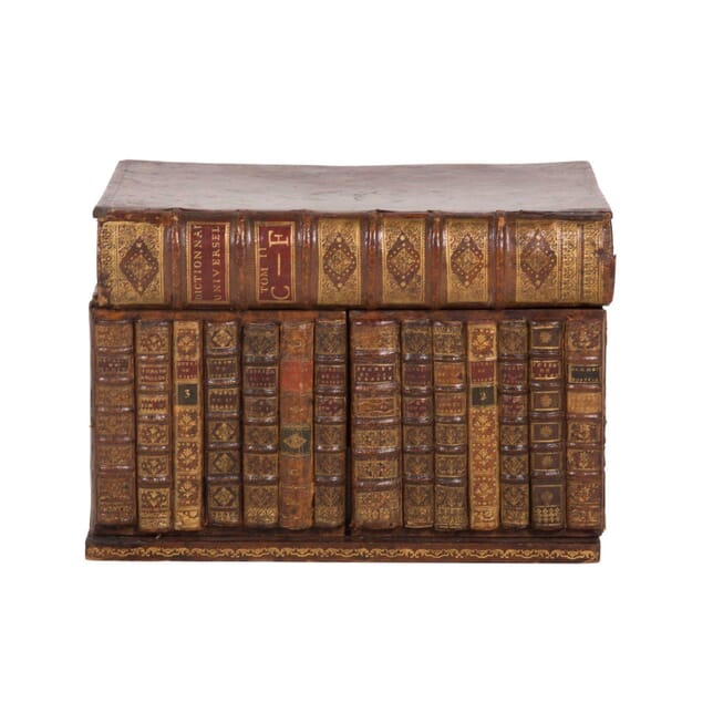 19th Century French Book Box Tantalus DA6059674