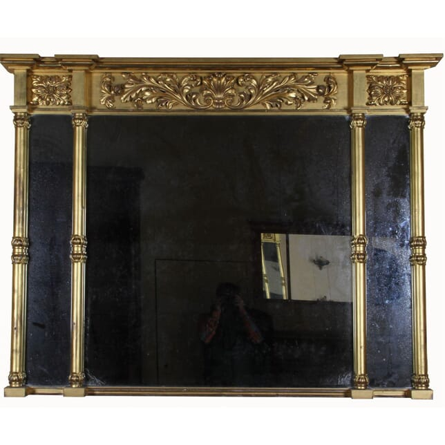 Gilt Overmantle Mirror (ex. Invercauld Castle) MI101653