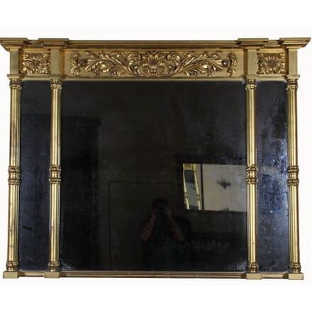 Gilt Overmantle Mirror (ex. Invercauld Castle) MI101653