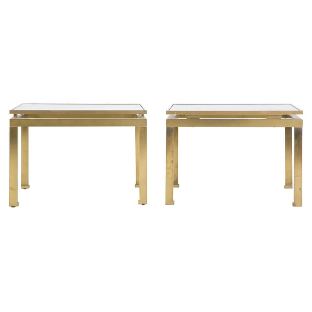 Pair of Low Tables by Guy Lefevre for Maison Jansen TC307389