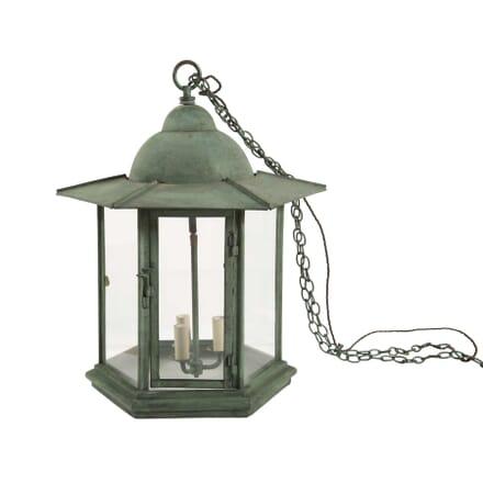 Copper Verdigris Lantern LL6357639