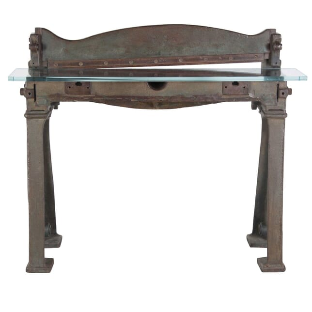 Industrial Guillotine Console Table CO435247