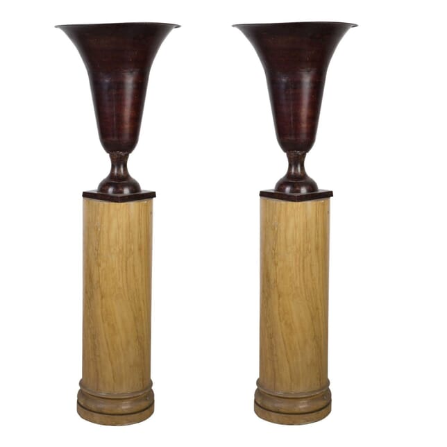 Pair of 20th Century Tole Urns DA1310067