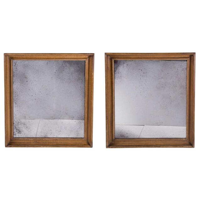 Large Pair of 18th Century Mirrors with Later Glass Plates MI6858533