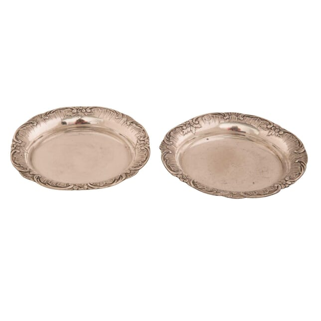 Pair of 'Boulanger' Silver Plate Coasters DA1559559